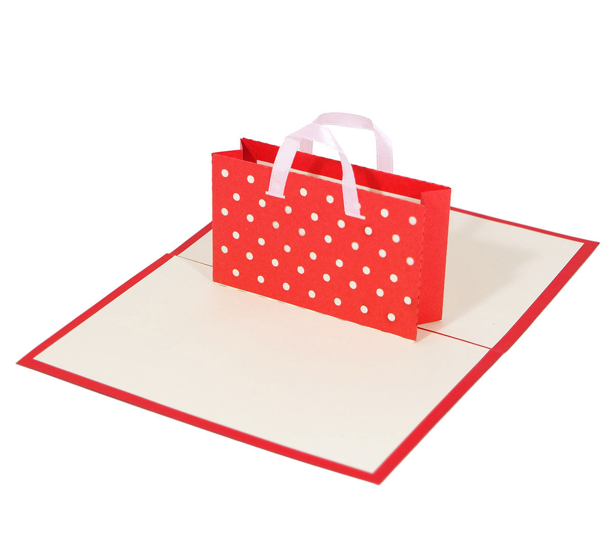 pop up karte als shopping gutschein verschenken 3d kartenwelt. Black Bedroom Furniture Sets. Home Design Ideas